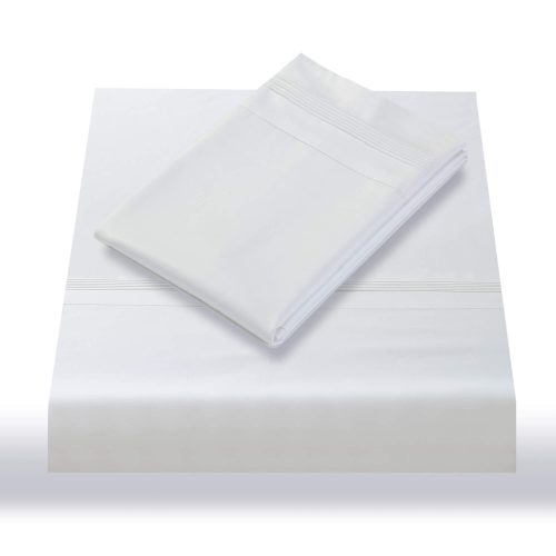 600TC Sheet Set White