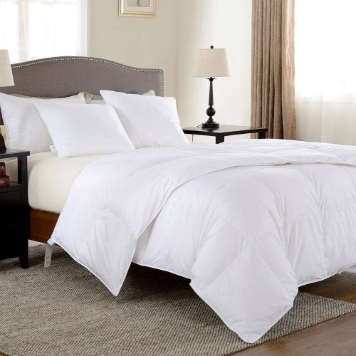 European White Goose Down Duvet