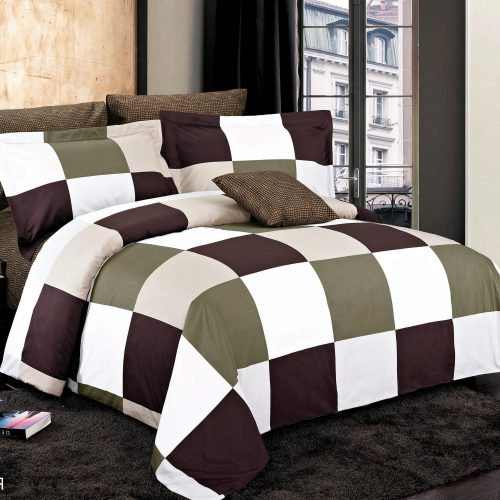 Park Brown Duvet Cover Set
